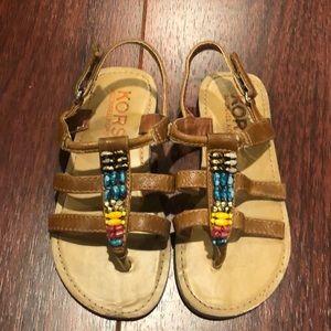 Kors kids sandal